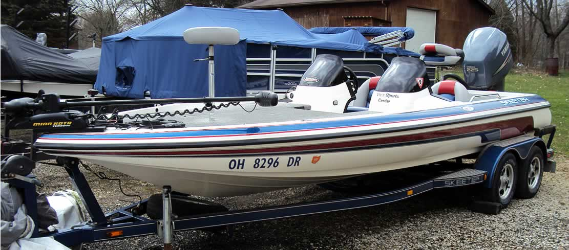 Ohio bass boats fp chautauqua lakefront property for Fishing boats for sale in ohio