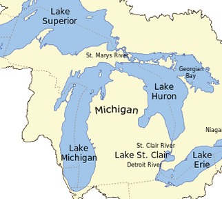 Go Fish Michigan - Great Lakes Watershed